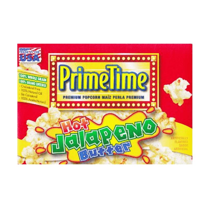 PrimeTime Premium Popcorn Jalapeno Butter 204g