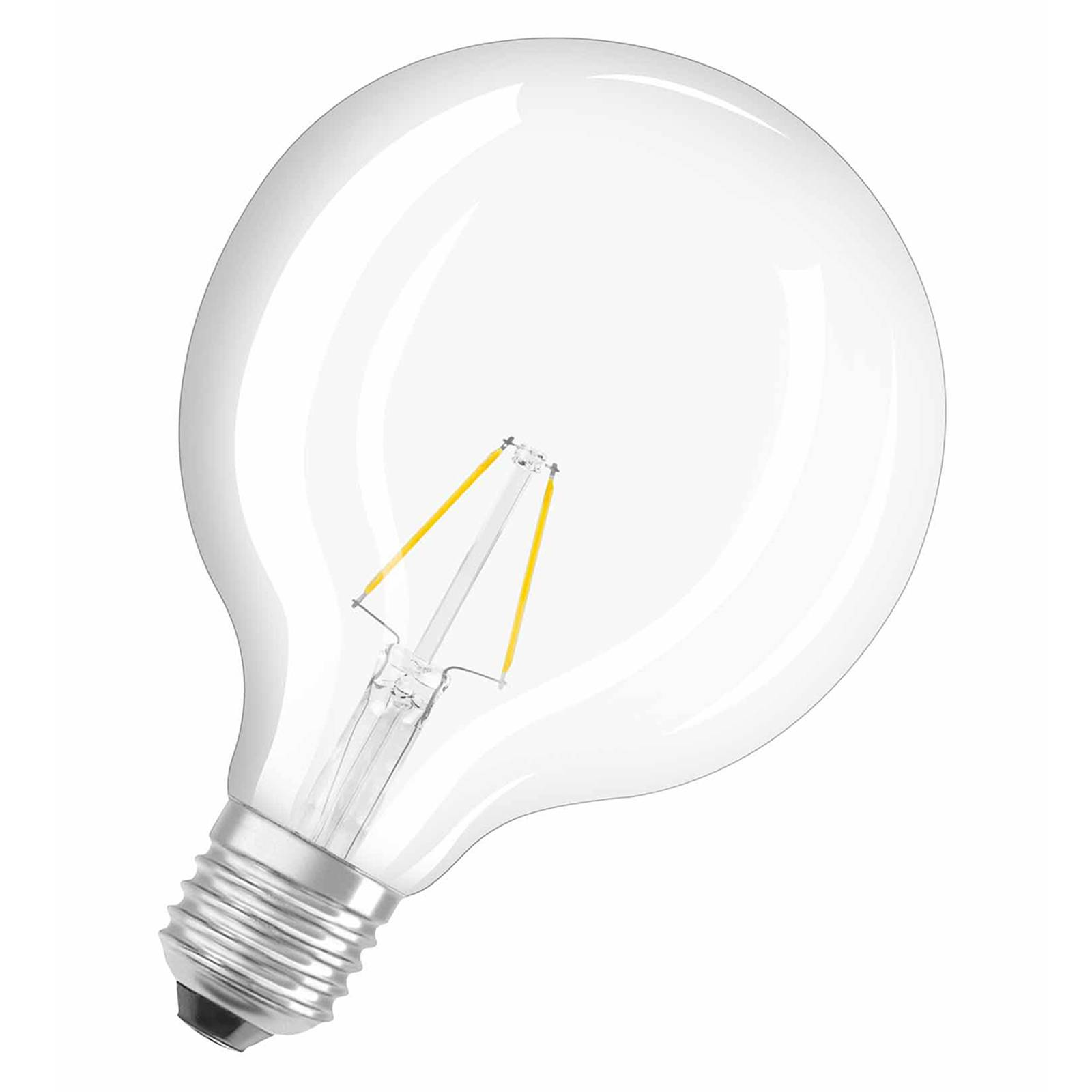 E27 2,5W 827 LED-pallolamppu, retromalli