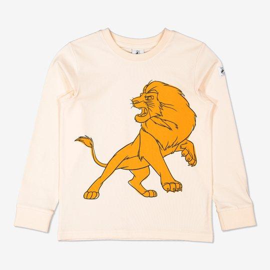 Genser med simba fra løvenes konge off-white