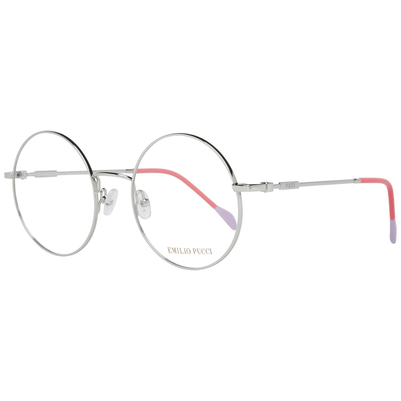 Emilio Pucci Women's Optical Frames Eyewear Silver EP5088 51016