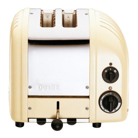 Dualit - Classic Brödrost 2 skivor Creme