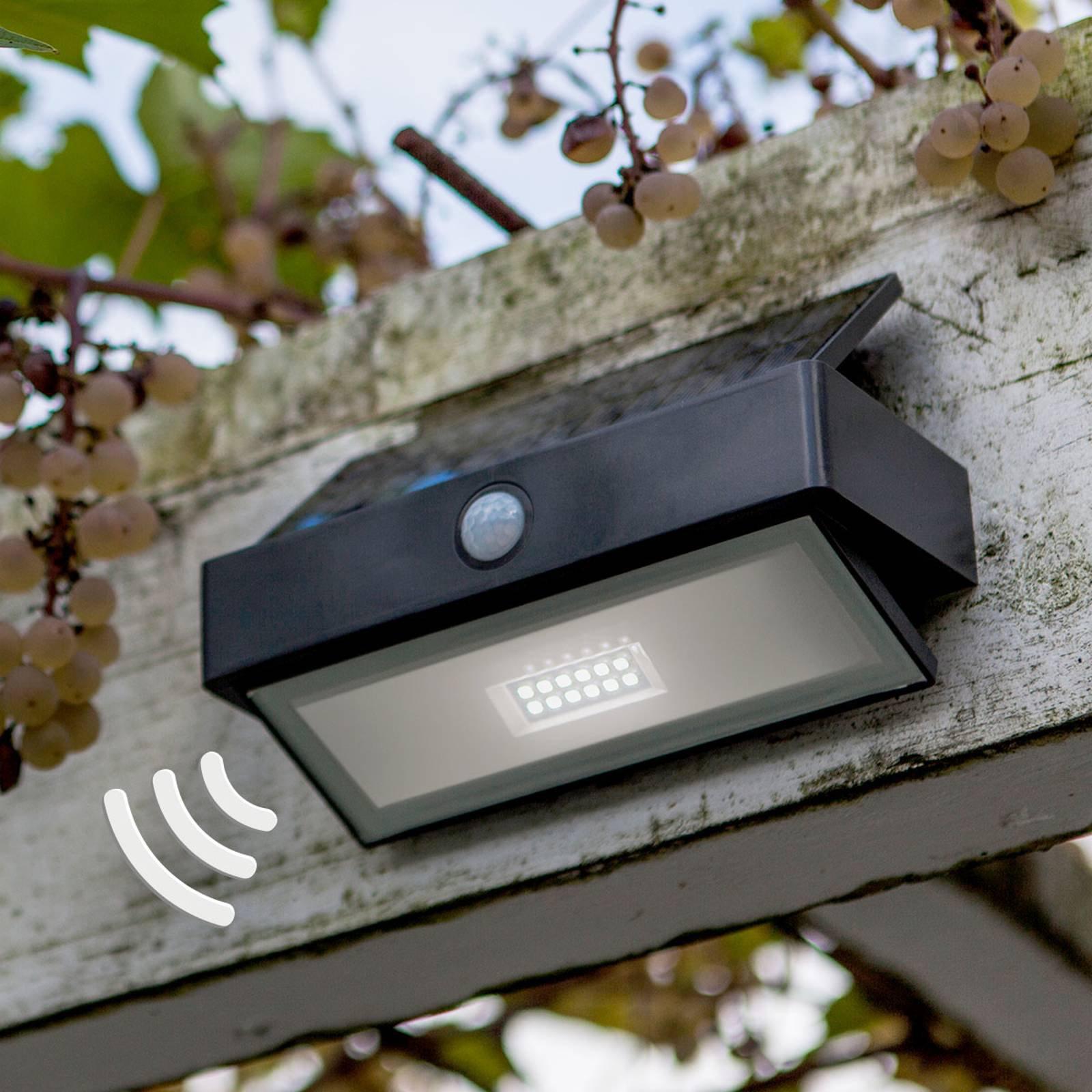 Arrow - sol-vegglampe med LED og sensor