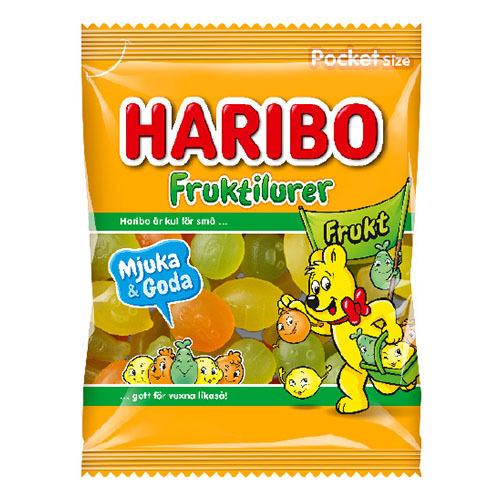 Haribo Fruktilurer Frukt