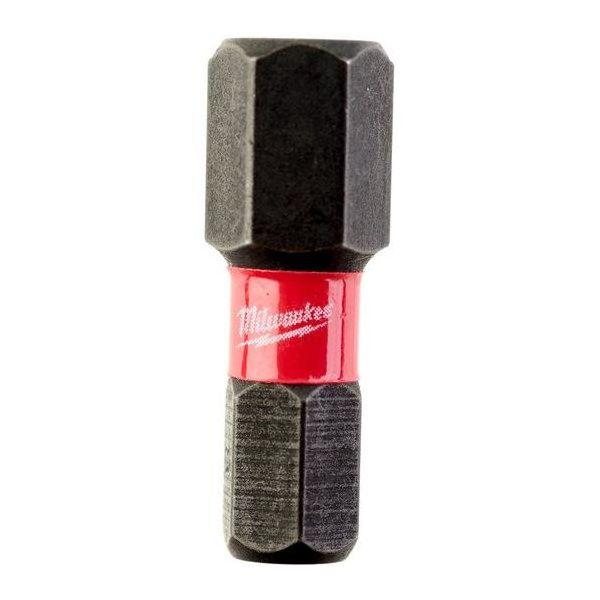 Milwaukee SHOCKWAVE Impact Duty HEX Ruuvikärjet 2 kpl:n pakkaus 8x25 mm.