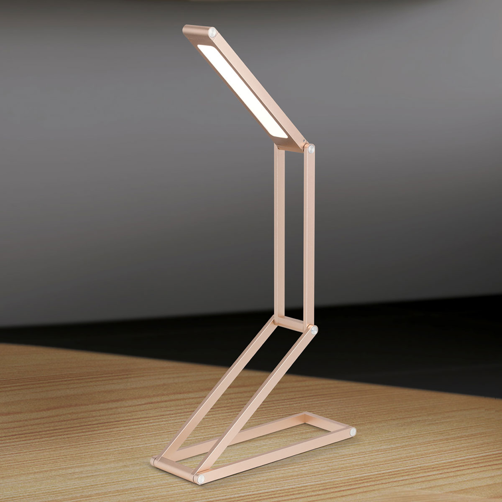 Käytännöllinen LED-pöytälamppu Falto, akku