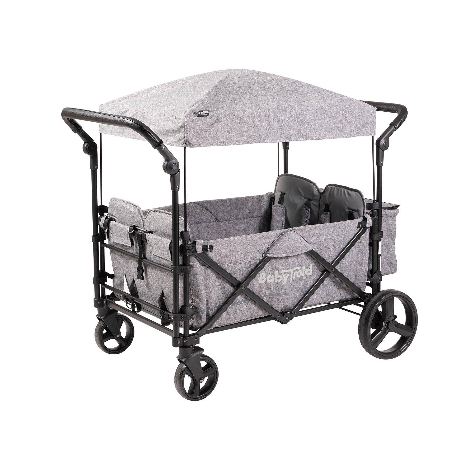 Babytrold - Fun Trolley for 4 children - Grey