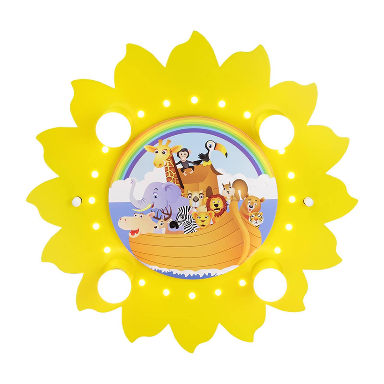 Kattovalaisin Aurinko ja arkki, 4-lamppuinen