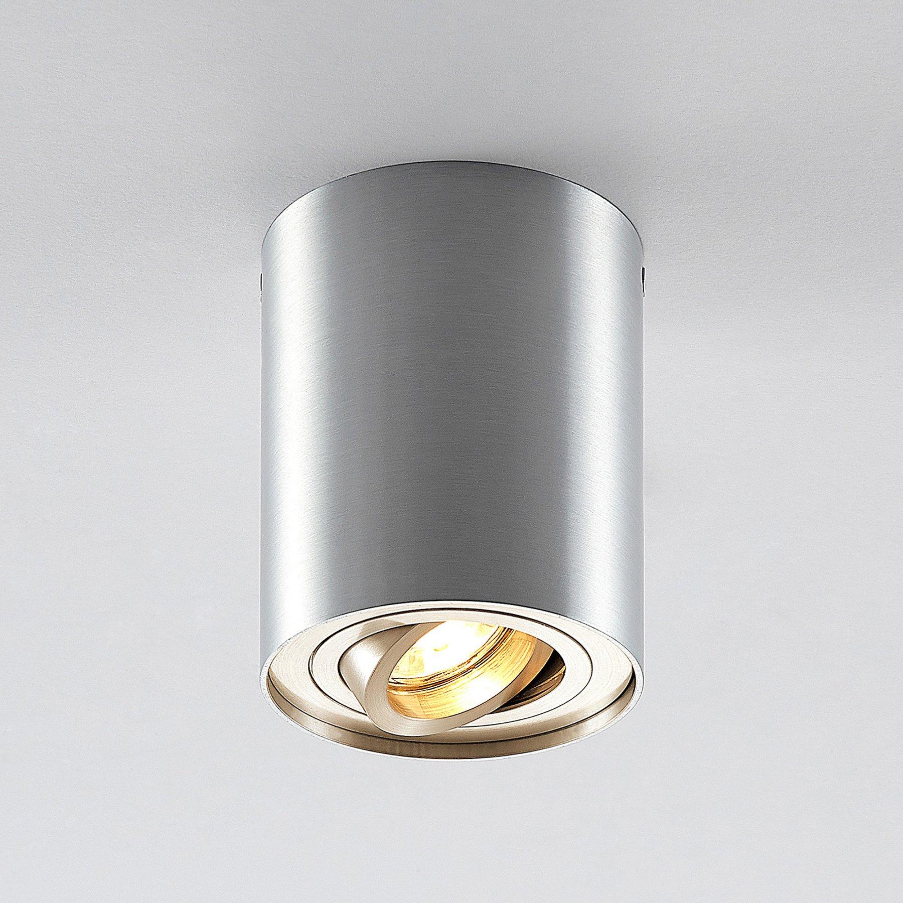 ELC Aleena downlight, justerbar, rund, aluminium