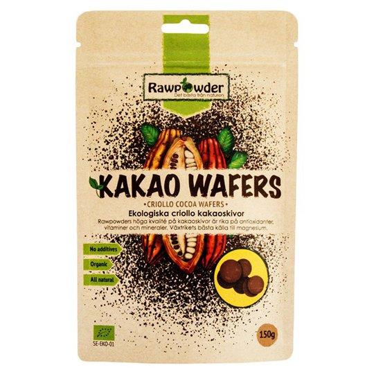 Rawpowder Ekologiska Kakaoskivor Criollo, 150 g