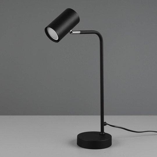 Bordlampe Marley, matt svart