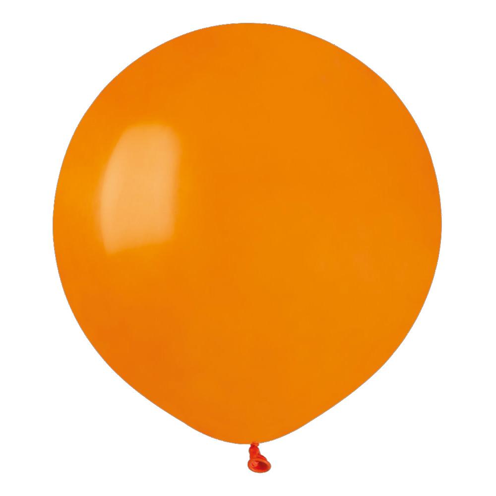 Ballonger Orange Runda Stora - 10-pack