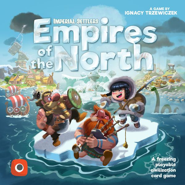 Imperial Settlers: Empires of the North - Boardgame (English)