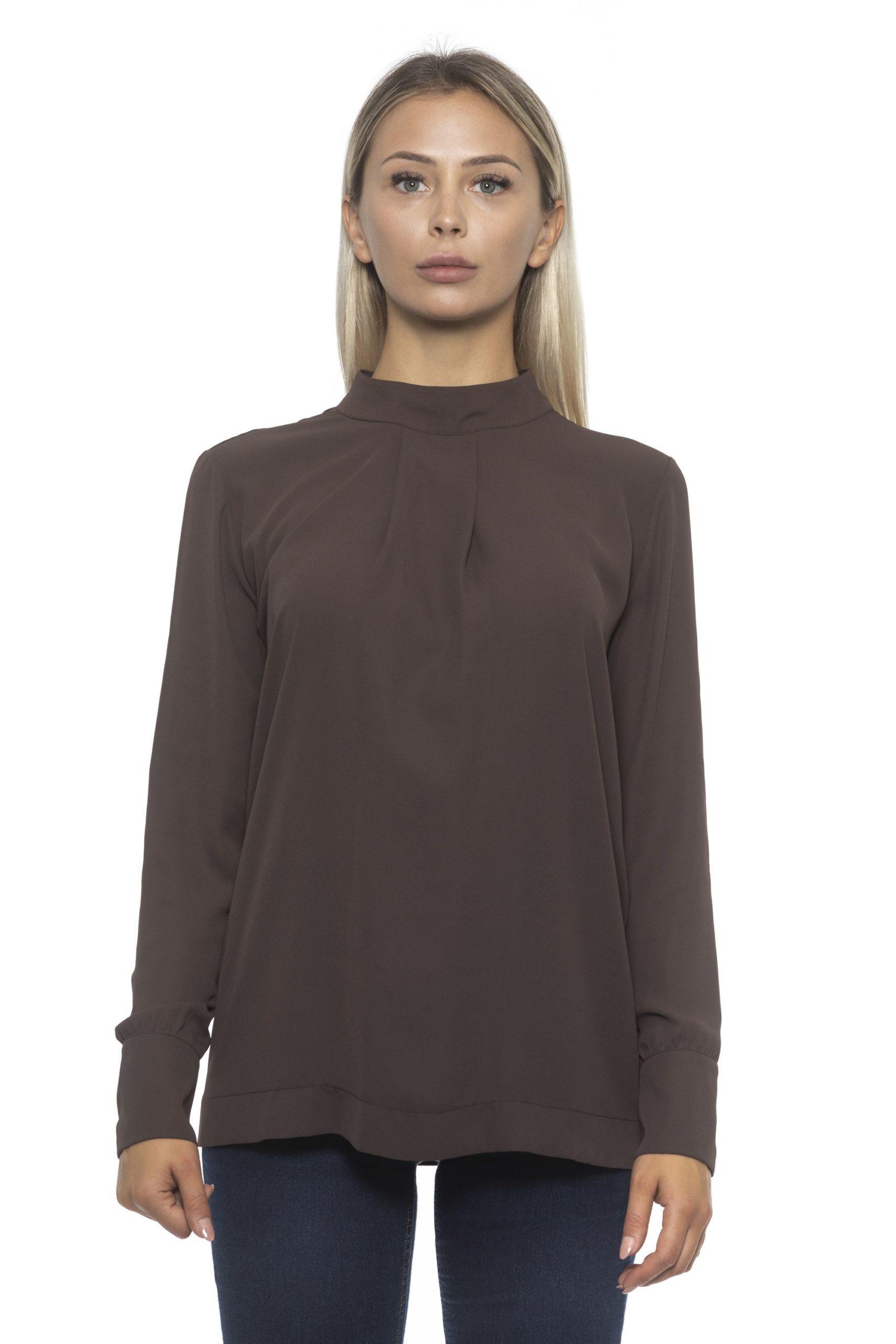 Alpha Studio Women's Moka Sweater Brown AL1192339 - IT42 | S