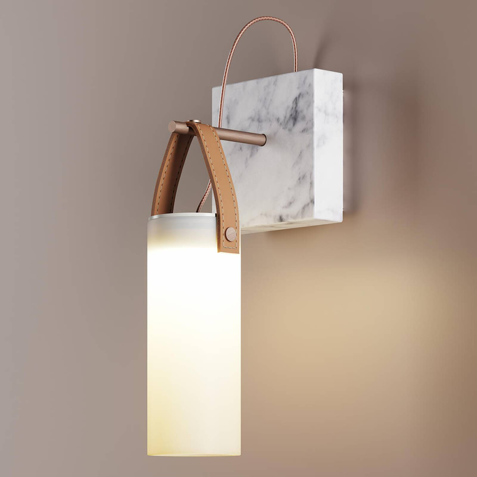 Fontana Arte Galerie -design-LED-seinävalaisin