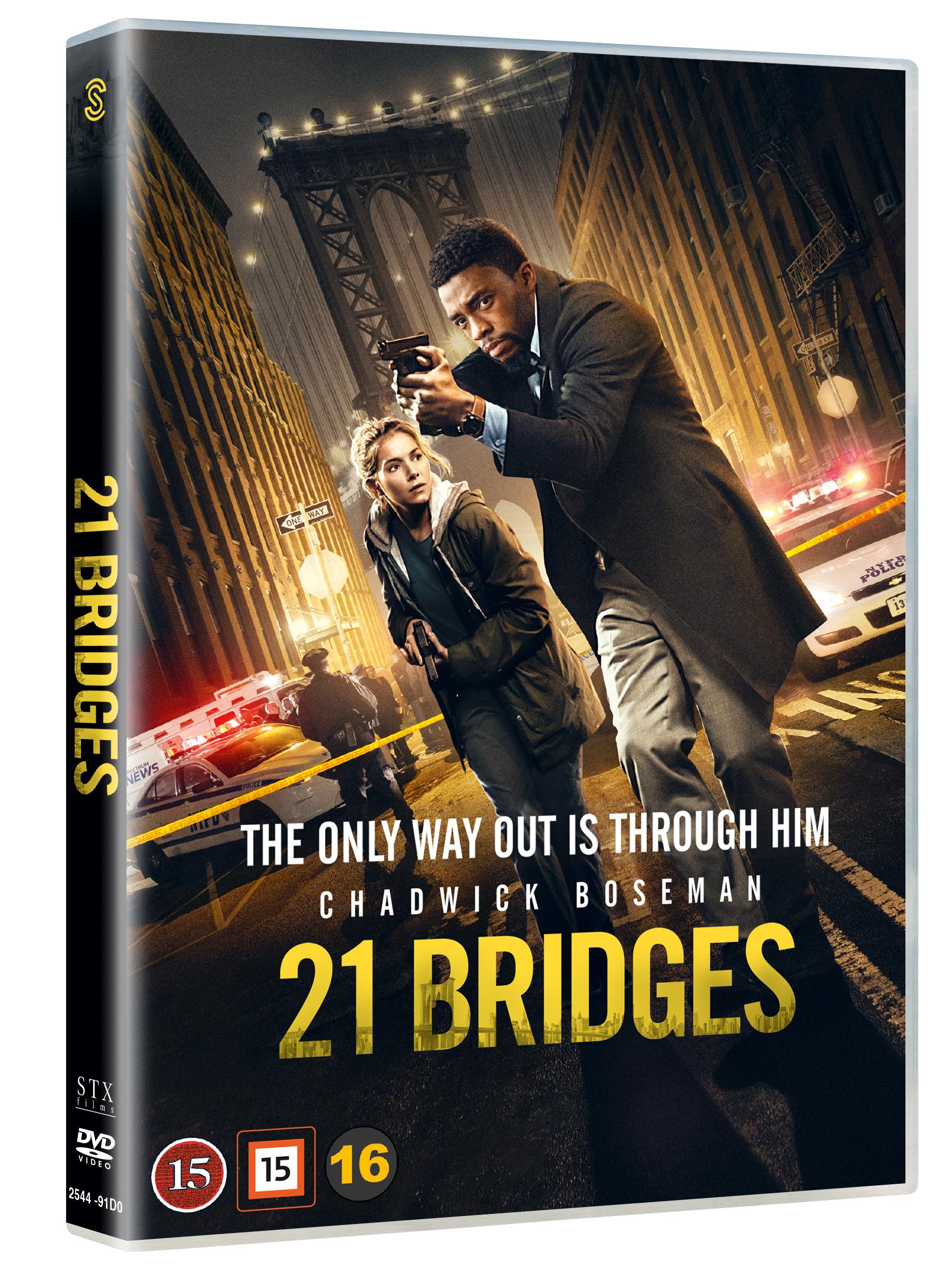 21 Bridges - Dvd