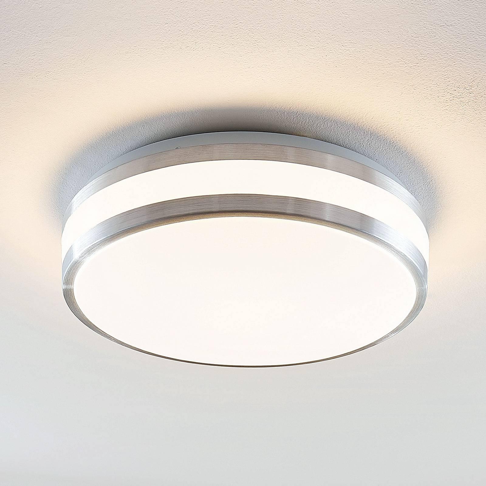 Lindby Nelia LED-kattovalaisin, pyöreä, 34,5 cm
