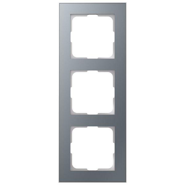 Elko EKO06621 Yhdistelmäkehys tina/alumiini 3-paikkainen