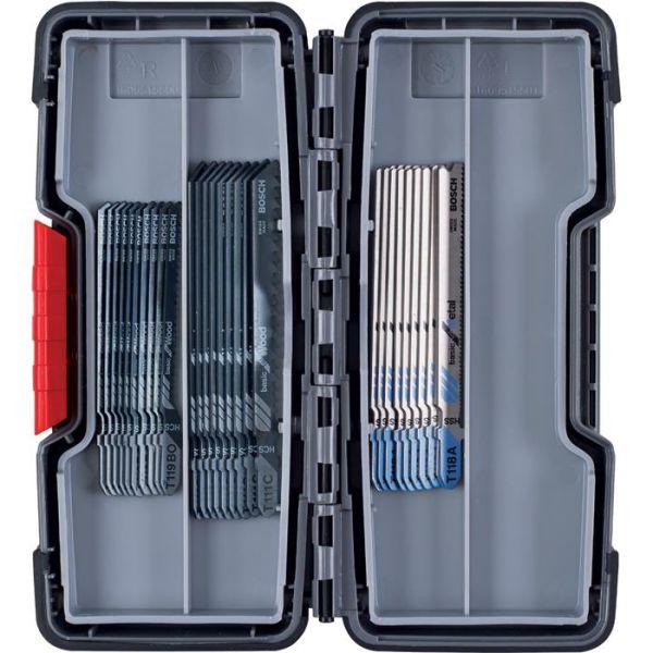 Bosch 2607010903 Stikksagbladsett 30 deler