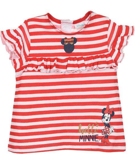 Disney Minni Mus T-Skjorte, Red, 18 Måneder