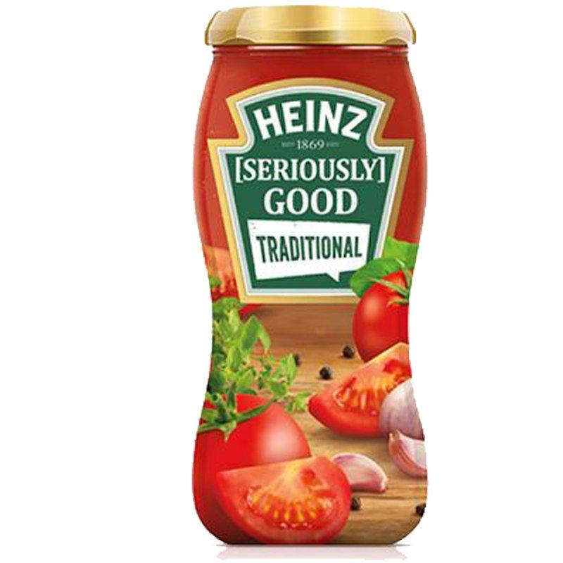"""Tomaattikastike """"Traditional"""" 490g - 60% alennus"""