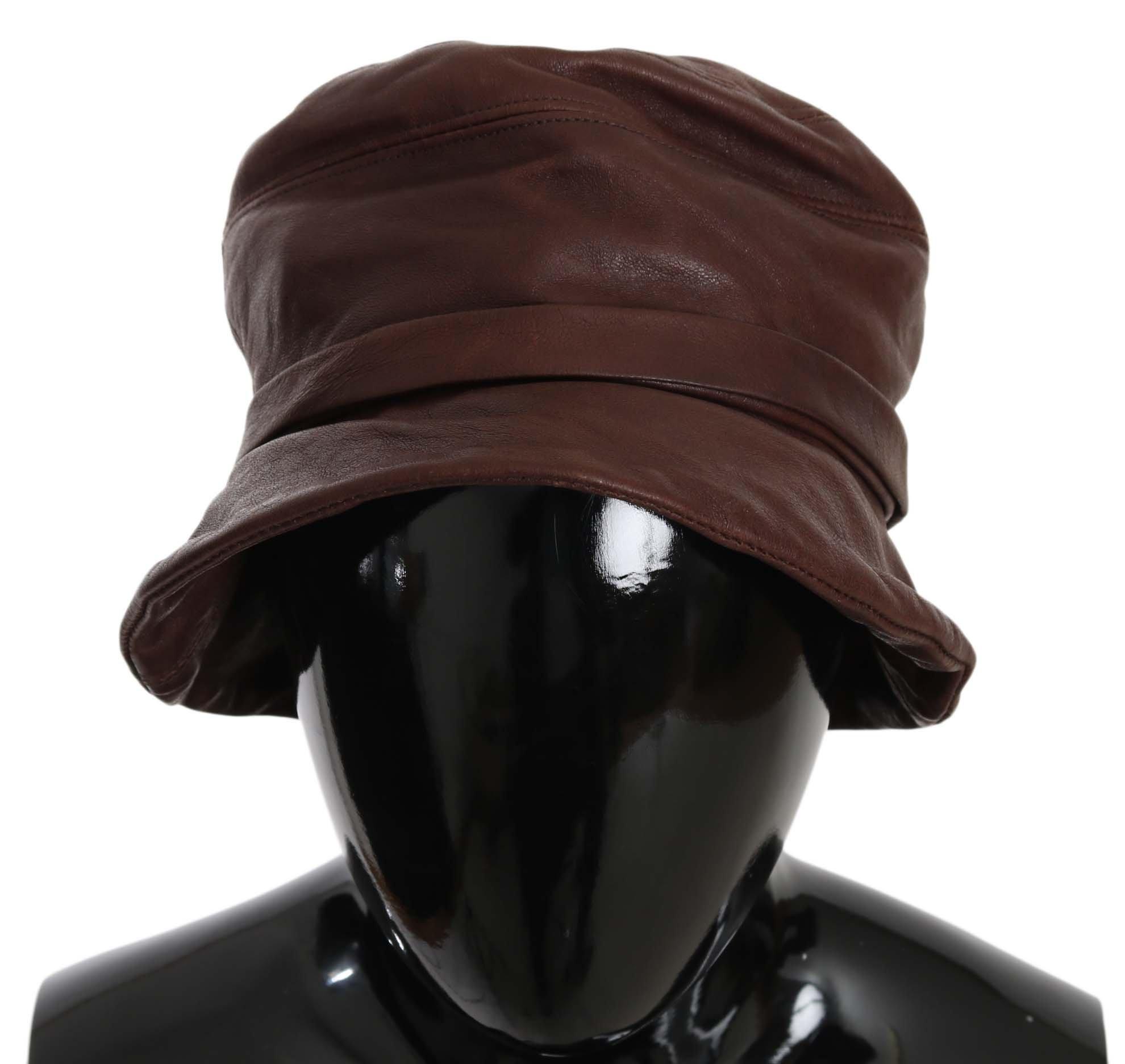 Dolce & Gabbana Women's Hat Brown HAT70215 - 56 cm XS