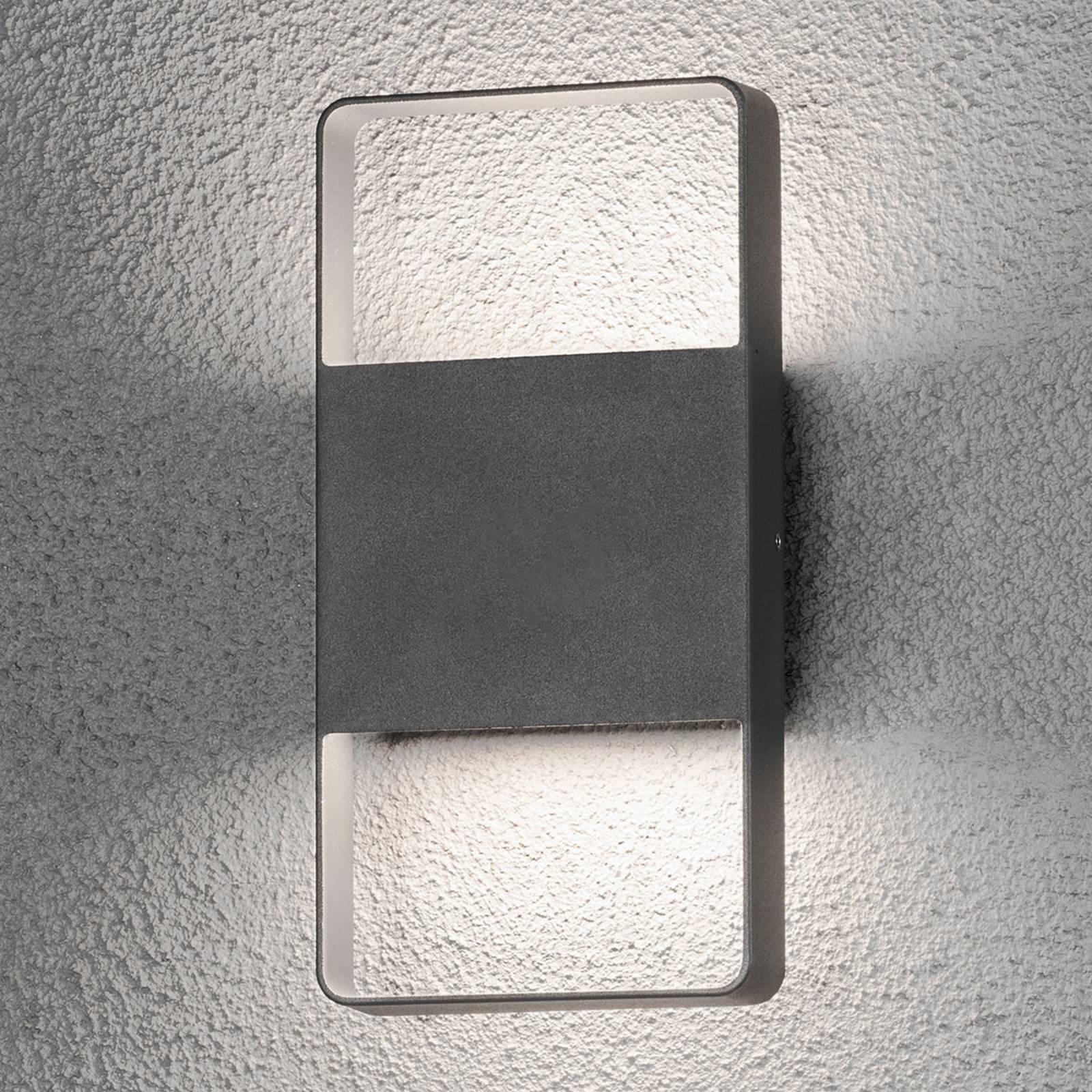 2 suuntaan loistava LED-ulkoseinävalaisin Matera
