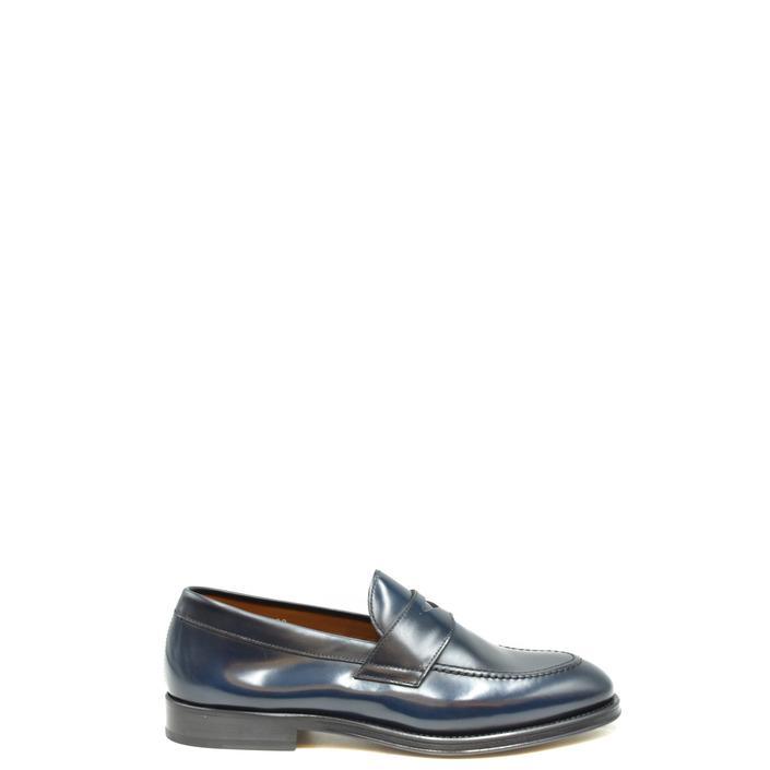 Doucal's Men's Loafer Blue 194230 - blue 44