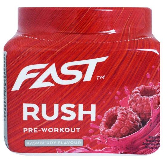 """Tehonlisääjä """"Rush Raspberry"""" 110g - 67% alennus"""