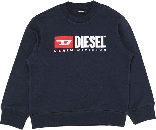 Diesel Screwdivision Sweatshirt, Dark Blue 10 År