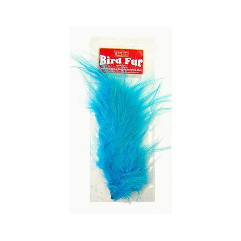 Whiting Bird Fur Silver Dr. Blue