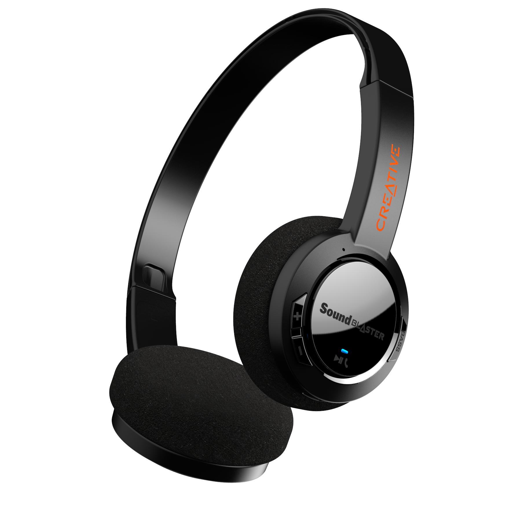 Sound Blaster JAM V2 Over-Ear, Black
