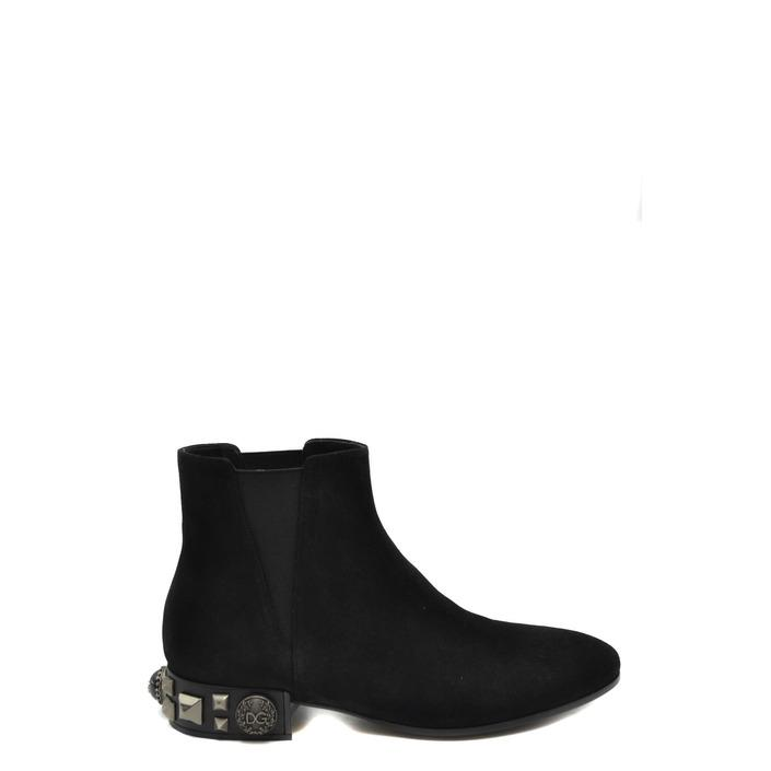 Dolce & Gabbana Women's Boots Black 170281 - black 35