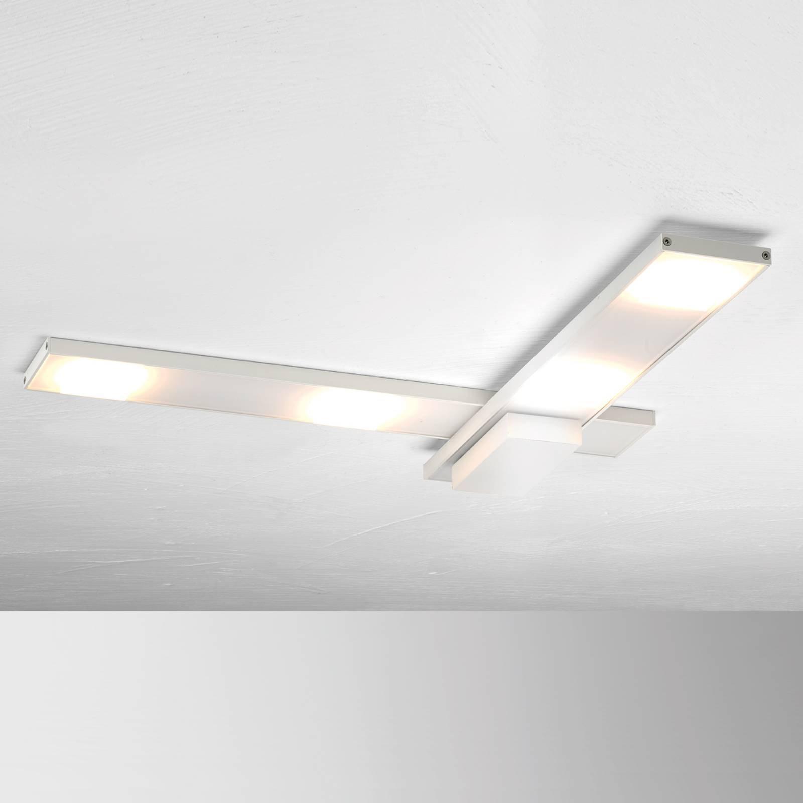 Raffinert LED-taklampe Slight, hvit