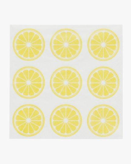 Paperiservetit, Lemon