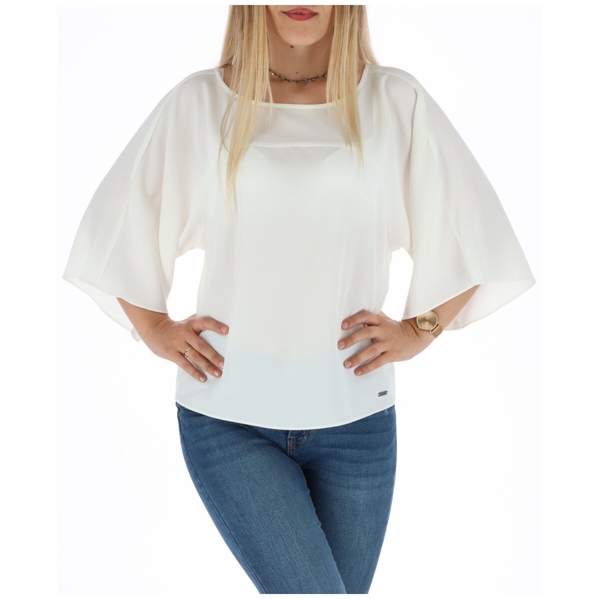 Armani Exchange Women's Top Various Colours 302298 - white XS