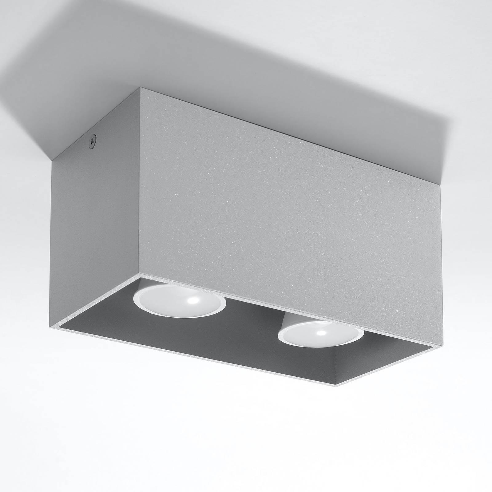 Kattovalaisin Ara Maxi alumiinia, harmaa