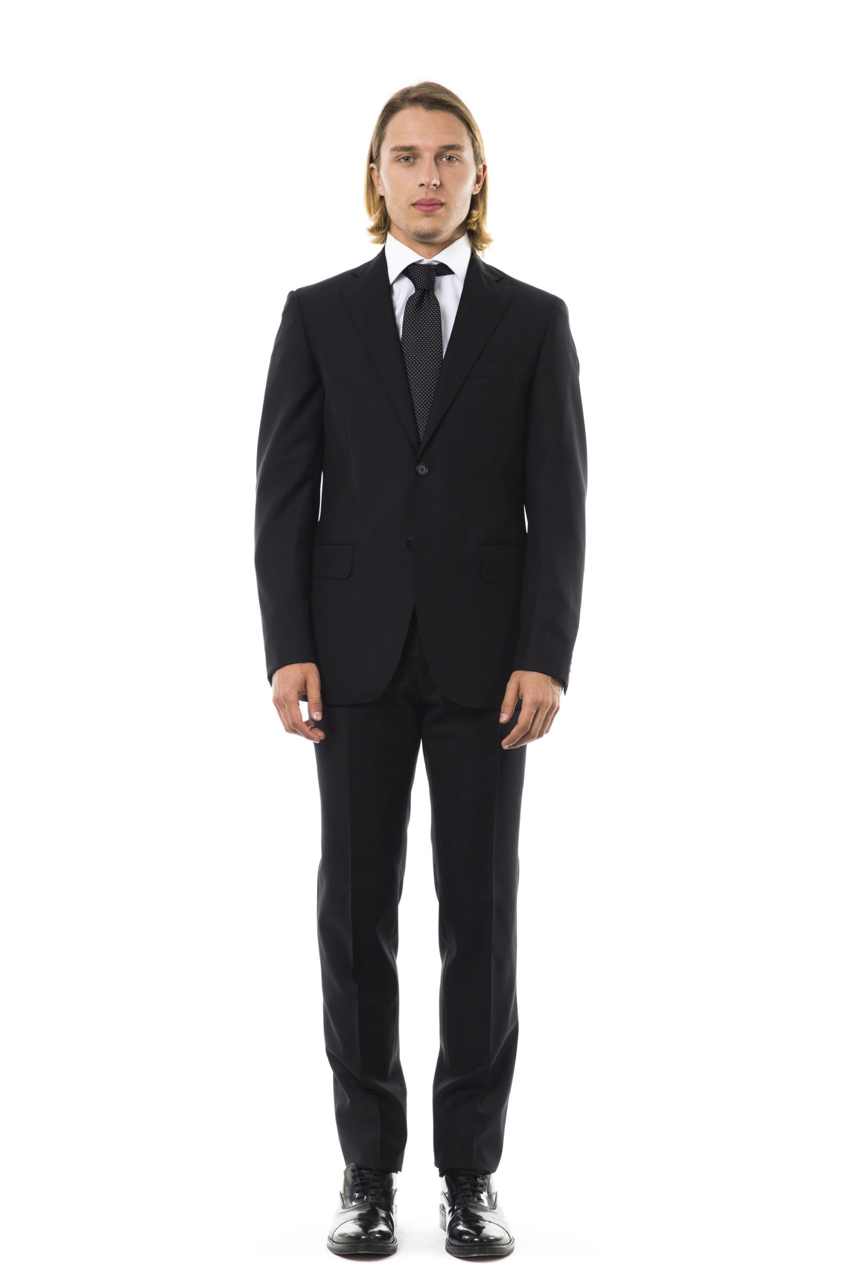 Uominitaliani Men's Suit Gray UO997450 - IT50   L