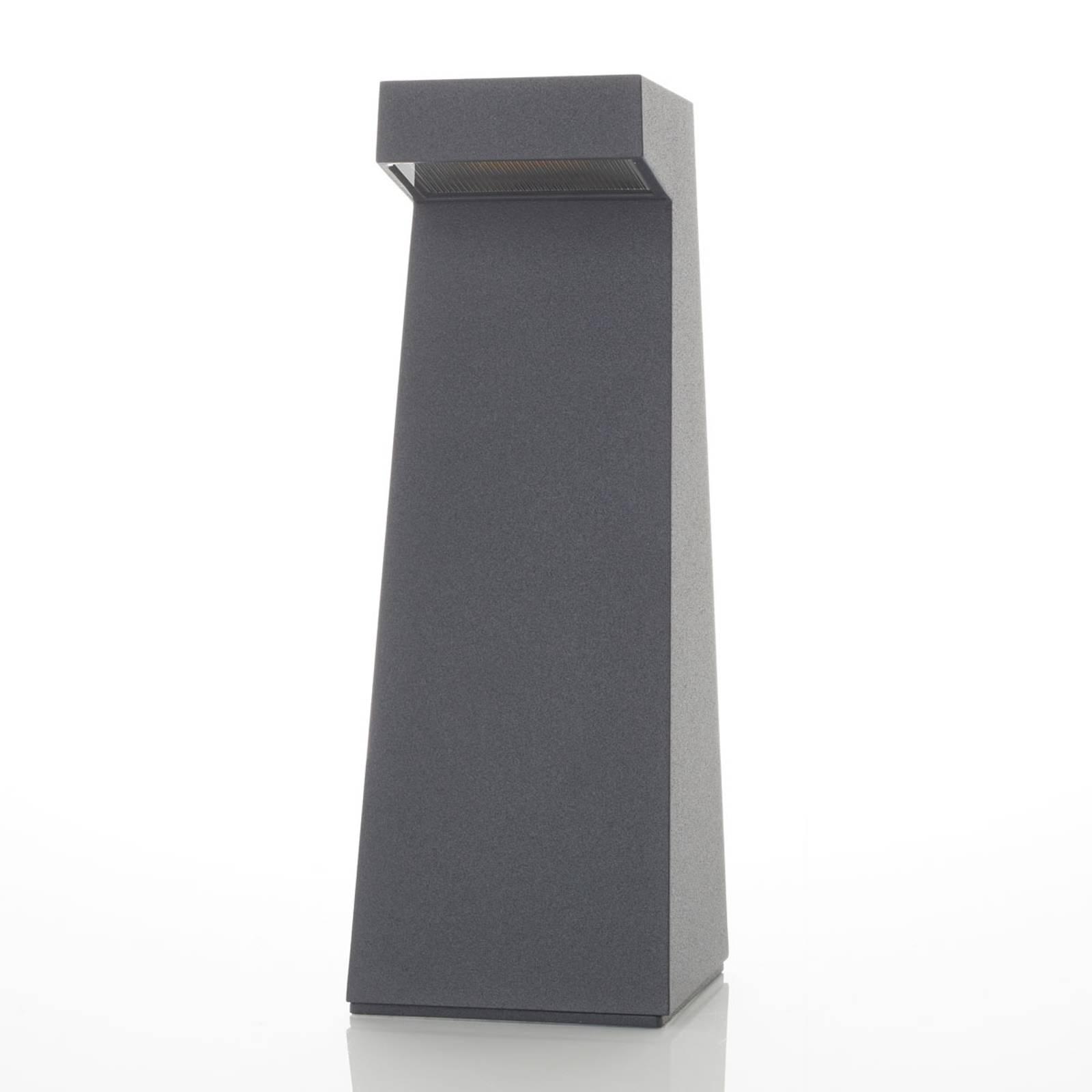 BEGA 84108 - LED-pollarivalaisin, grafiitti, 3000K