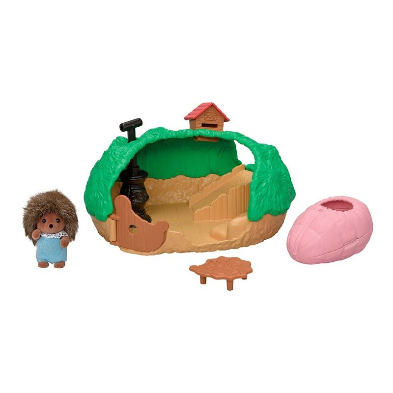 Sylvanian Families - Baby Hedgehog Hideout Playset (5453)