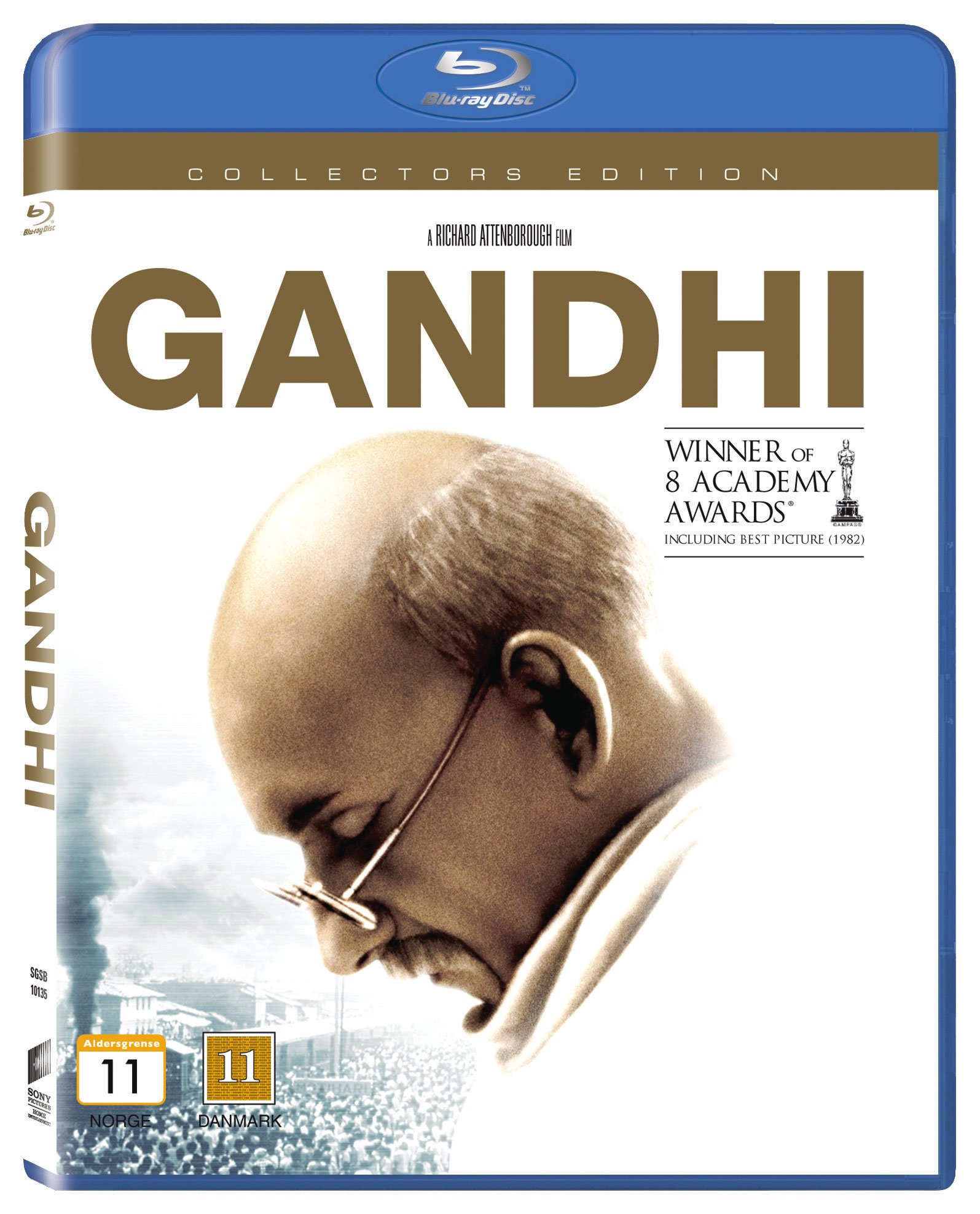 Gandhi (Classic Line) Blu ray