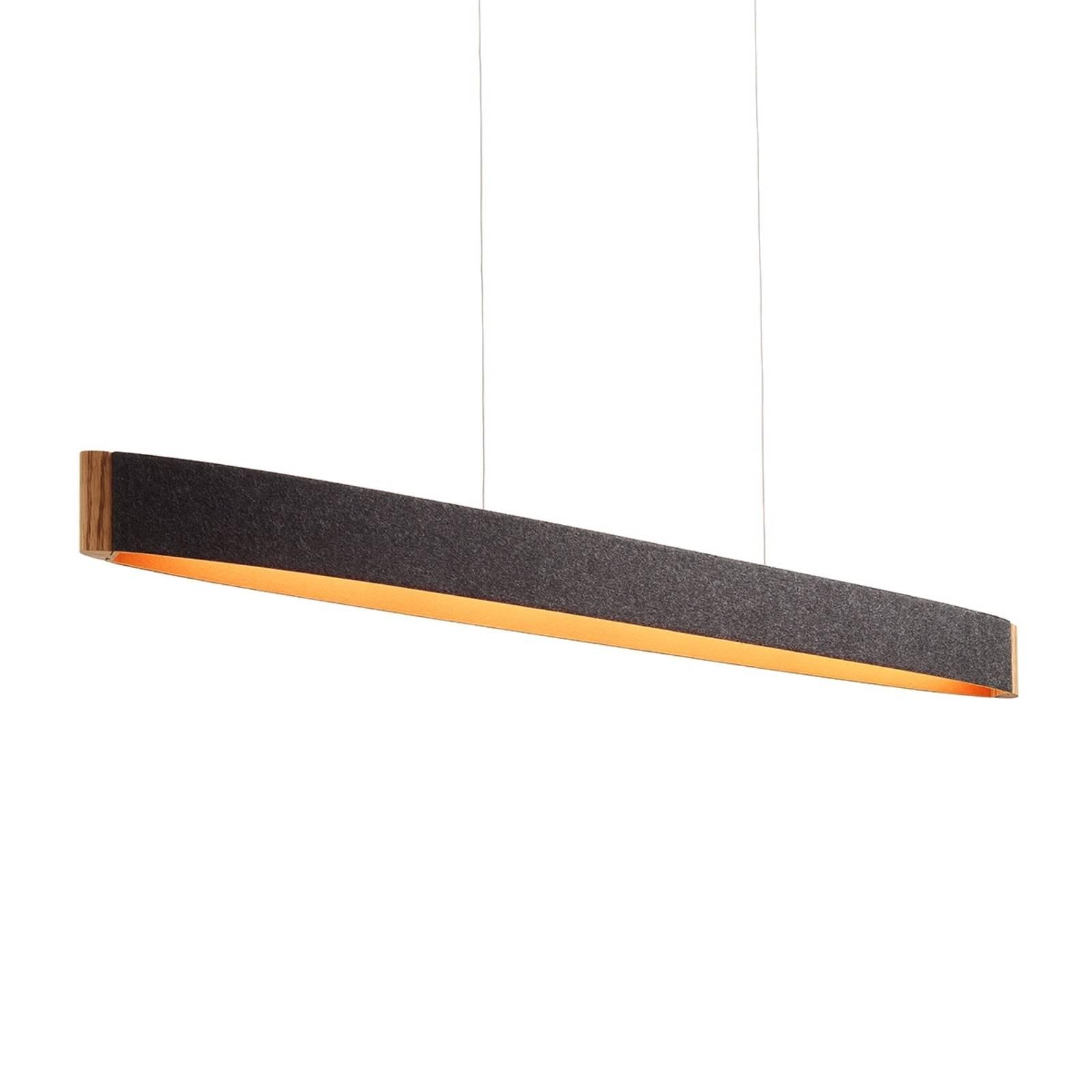 Zep 13 -LED-riippuvalo villahuopaa, graf.-orans.