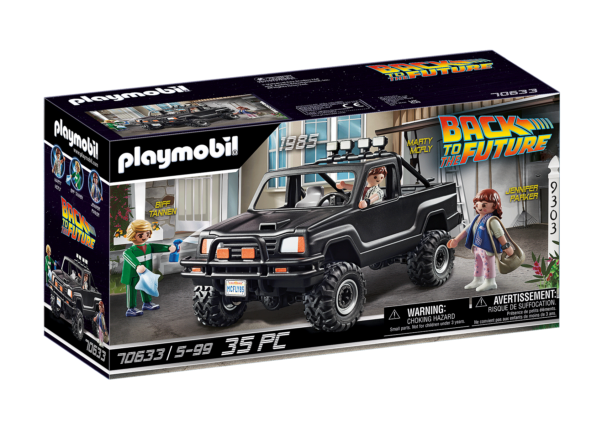 Playmobil - Back to the Future Marty's Pickup Truck (70633)