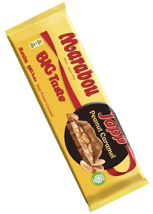 Big Taste Japp Peanut Caramel - 276 g