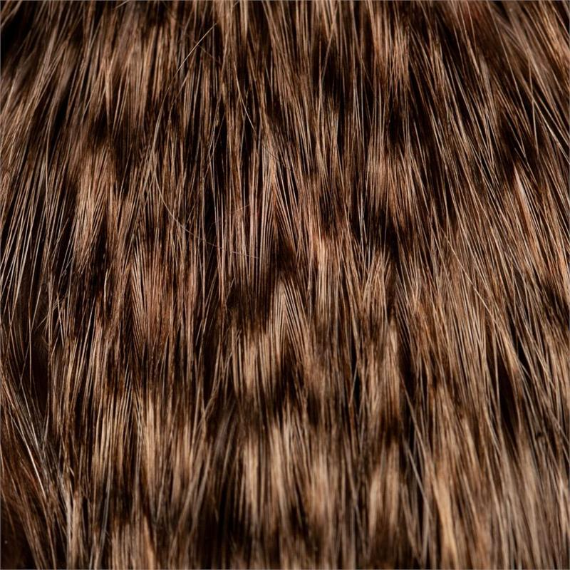 Whiting Bird Fur Grizzly/Salmon