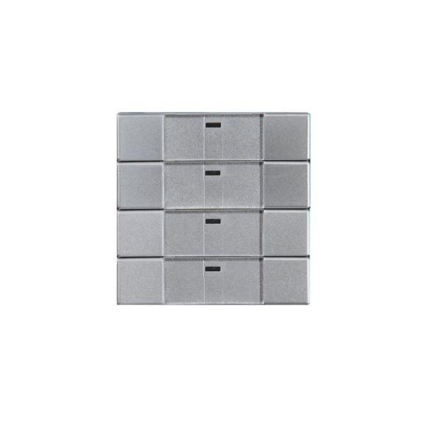 ABB Impressivo 6733-83-500 Painike 4-napainen, langaton Alumiini
