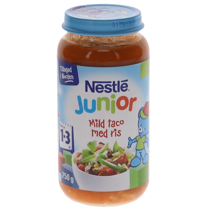 Barnmat Taco med Ris 15 månader - 9% rabatt
