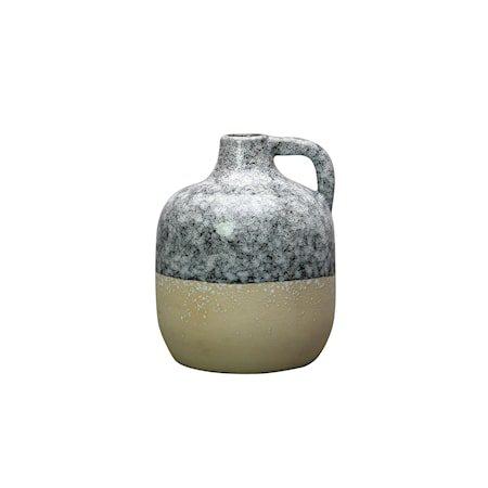 Vase Code Blå/Beige