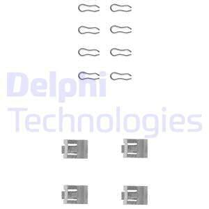 Tarvikesarja, jarrupala DELPHI LX0075