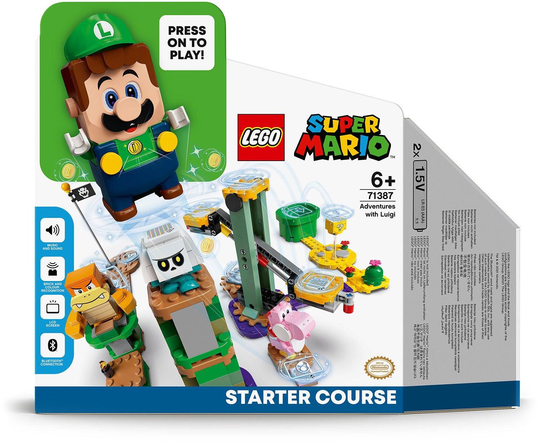 Lego Super Mario 71387 Äventyr Med Luigi – Startbana