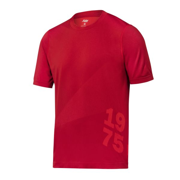Snickers 2519 FlexiWork T-paita Punainen XS